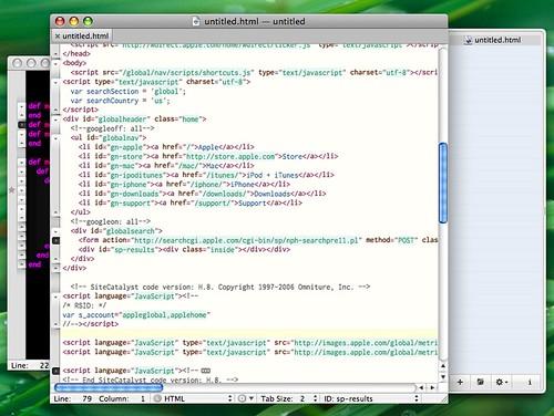 Main / Alternative TextMate GUIs browse — TextMate Wiki