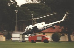 RAN Fleet Air Arm UH-1B 1989 at HMAS Cresswell (SzabaTheHut) Tags: navy huey ran nowra iriquois uh1b