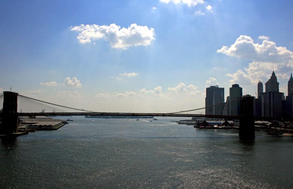 View of the Brooklyn Bridge