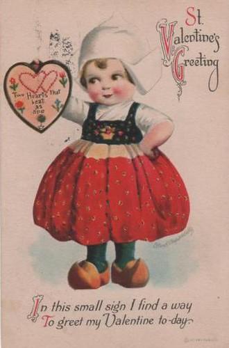 Vintage Postcard ~ Clapsaddle Valentine
