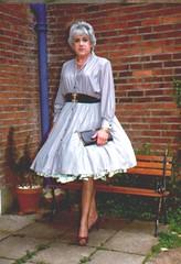 104 (cochinelleuk) Tags: full 1950s transvestite crossdresser skirts frou petticoats poufbunnie
