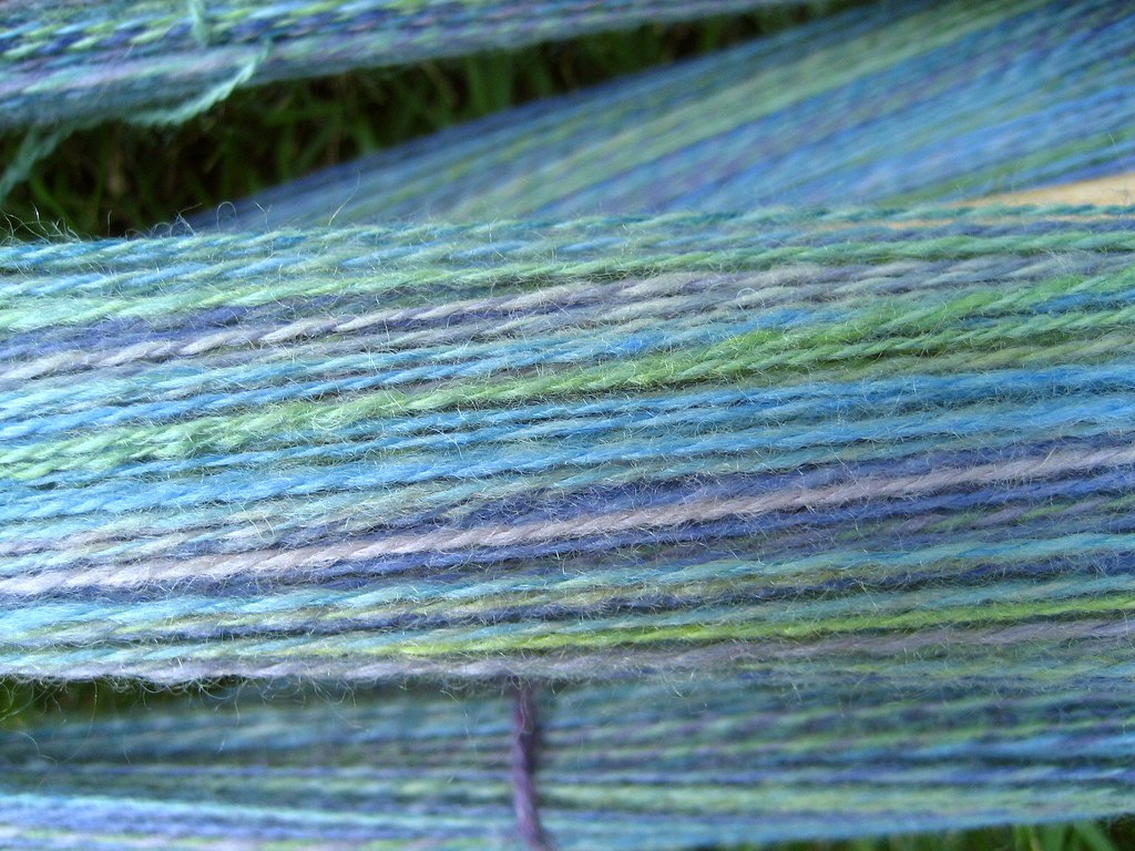 Antigua BFL 2-ply on the niddy