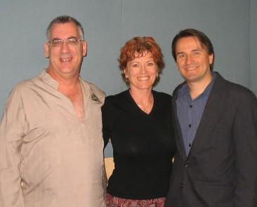 Ian, Karen & David