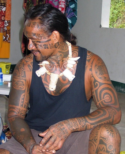 Marquesan tattoo 2