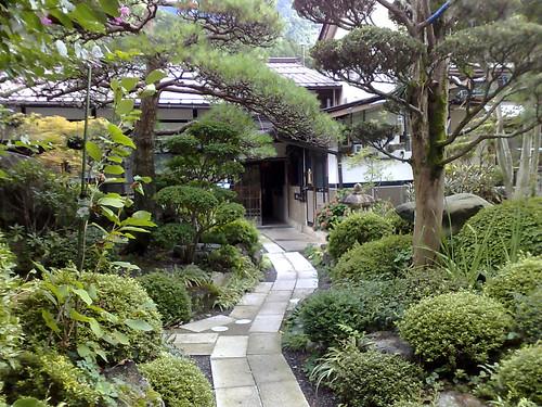 Japanese Garden Design gardening in heels