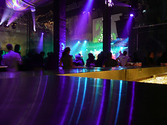 Beschwingte Bar (b_highdi) Tags: vienna wien blue party night lights austria colours nacht blau fest lichter farben amazingshot earthnight 30jahre bhighdi ottakringerbrauerei falterfest