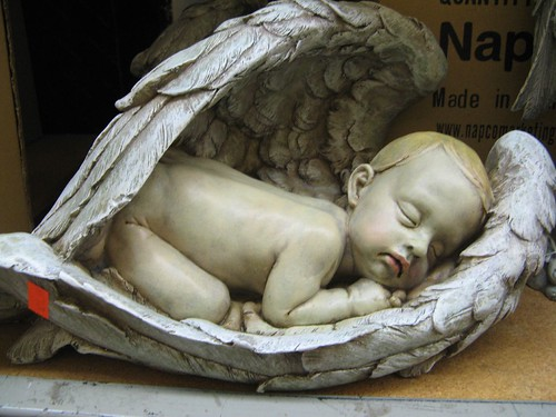 Awww. Dead baby angel. How cute.