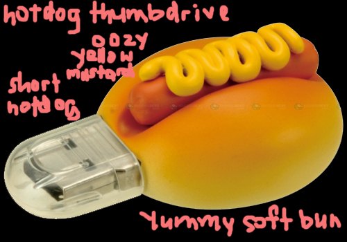 hotdog thumbdrive