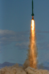 Launch (Erik Charlton) Tags: nevada rocket rockets highpowerrocketry balls16