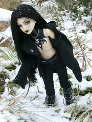 Dans la neige (AsellaDolls) Tags: bjd dollfie narae narindoll