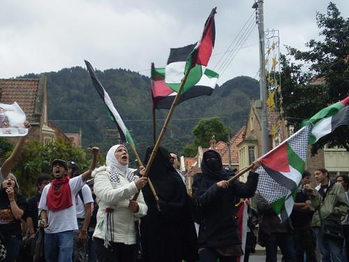 Marcha apoyo a Palestina / Gaza en Bogotá, Colombia - 20090106 - 1061799