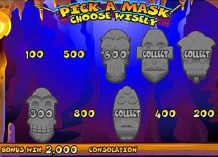 free Big Kahuna gamble bonus game