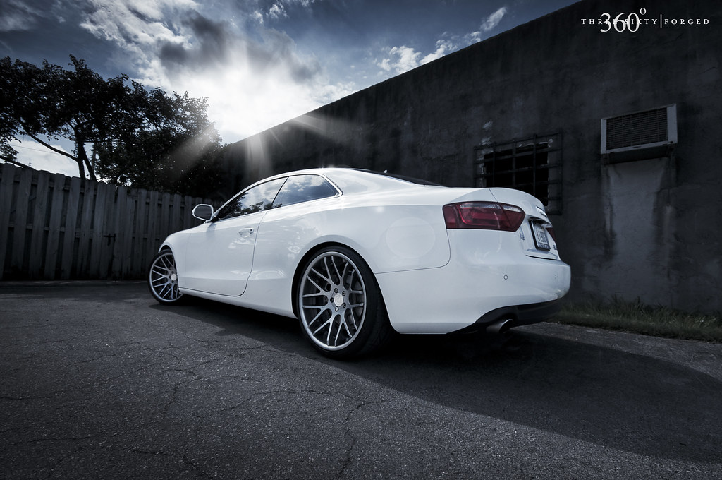 Audi A5 360 Forged Concave Mesh 20x10 All Around