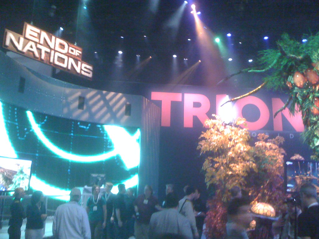 Trion Worlds Booth at E3
