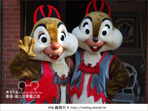 【香港自由行】跟著via玩香港(1)~爆走香港迪士尼樂園49