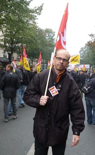 1022法國罷工遊行4