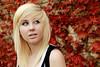 Stevie-Marie (Shandi-lee) Tags: autumn red portrait fall girl leaves vines blondehair