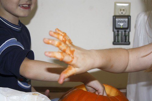 302/365 - Gooey Hands