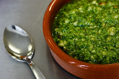 Watercress and Rocket Pesto