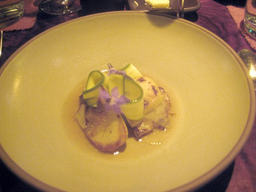 Coi, San Francisco - Late Summer Squash Soup with Borage