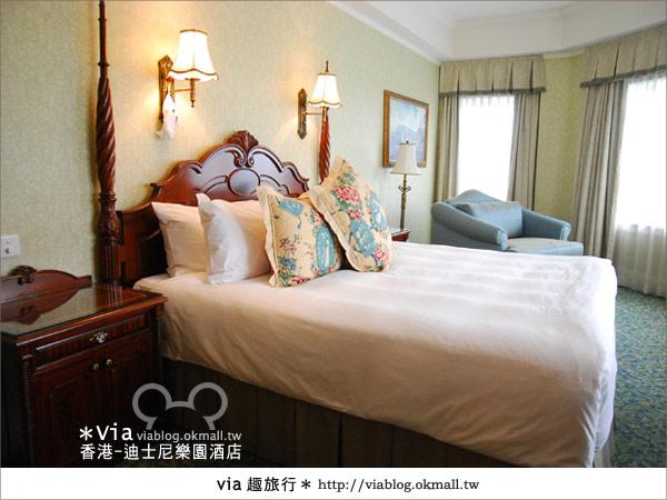 【香港住宿】跟著via玩香港(4)~迪士尼樂園酒店(外觀、房間篇)29