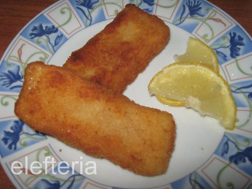 κροκετες ψαριου (περκα φιλετο)