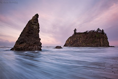 washaway sunrise... (Mac Danzig Photography) Tags: ocean longexposure beach landscape washington waves pacific northwest shore ruby seacsape tnc11