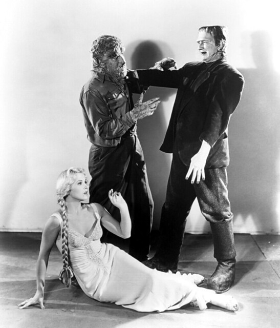 Frankenstein Meets the Wolf Man (Realart, R-1949) 2