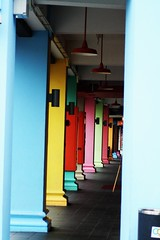 The Alley of Colored Crayons - by vishy-washy