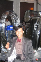 Senior Soirée (3 Jun 2007) What's a Harvard formal without an ice sculpture?  Class of 2007, baby.