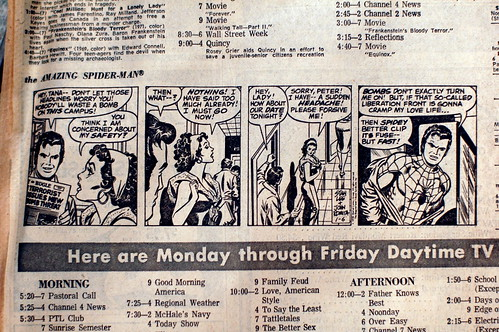 Spider-man daily strip
