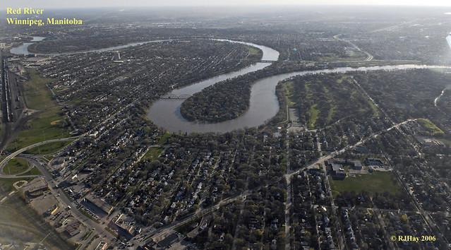 Red River, Winnipeg, Manitoba