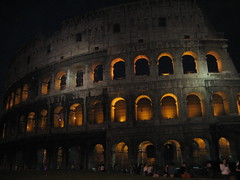 Colisseum at night (good noodles) Tags: italy rome night canon colisseum sd630