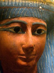 Ancient Egyptian sarcophagus (ggnyc) Tags: nyc newyorkcity mask sarcophagus mummy met artifact metropolitanmuseumofart relic ancientegypt egyptology antiquity egyptianart funerarymask