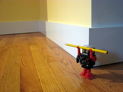 Robot (Plutor) Tags: wall pencil robot floor baseboard