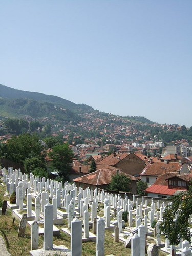 on the southern hill of Sarajevo