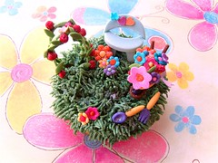 Spring Tapestry (~Trs Chic Cupcakes by ShamsD~) Tags: flowers roses grass by southafrica this cupcakes is spring colours candy butterflies explore tres chic now flickrcolours sugarpaste designercupcakes diamondclassphotographer flickrdiamond eyecandyart colourartaward shamsd augusthappinesschallenge shamimadesai cupcakesinsouthafrica cupcakesfromsouthafrica cupcakesinpietermaritzburg weddingcupcakesinsouthafrica weddingcupcakesinpietermaritzburg