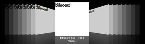 Todas las portadas de Billboard Top 100 de todos los tiempos en Coverflow de iTunes