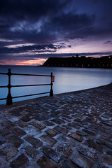 Scarborough North Bay Sunrise (msjharper1) Tags: uk england digital sunrise landscape dawn coast nikon long exposure d70 yorkshire lee scarborough 1020mm northeast firstlight yorkshirecoast gradnd