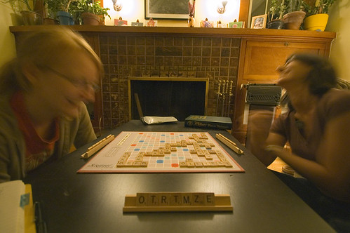 Scrabble as aerobic activity