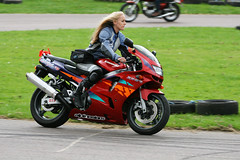 Erin (Szmytke) Tags: bike topv111 hair scotland long aberdeenshire erin rally blonde motorcycle kawasaki alford