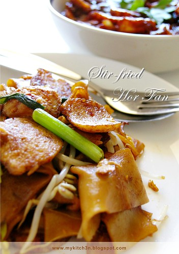 Stir-fried Hor Fan