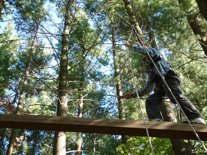 High rope challenge 004