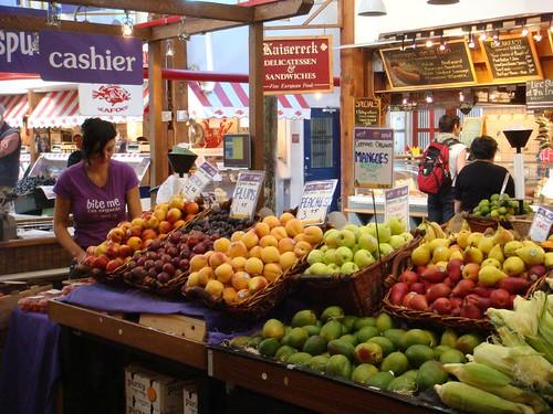 Mountains of Fresh Fruit