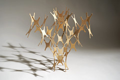 x=? (Richard Sweeney) Tags: lighting sculpture art mobile toy design construction birch cnc neuron plywood interlocking richardsweeney wallscreen lazerian liamhopkins