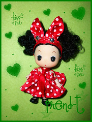 Mi pequea Esmeralda (PrenD-T) Tags: red cute doll kawaii mueca ddung prendt