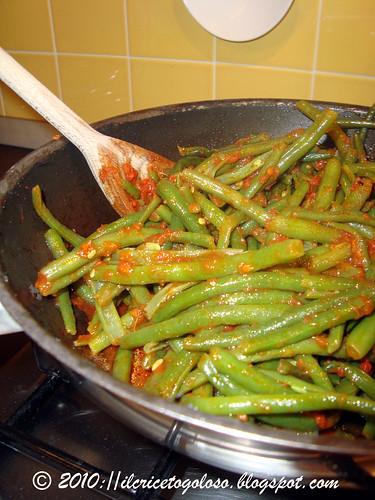 Fagiolini in umido al pomodoro 2