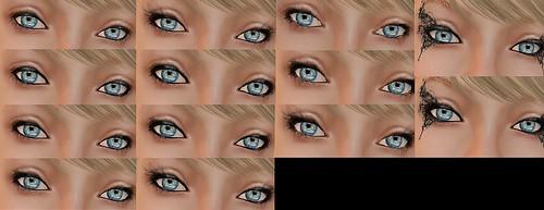 Wet Eyeliner/Mascara