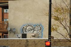 Fact (EMENFUCKOS) Tags: chicago graffiti satellite xmen dishes fact