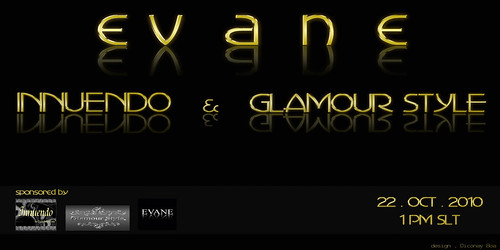 Evane - Innuendo and Glamour Style Invite